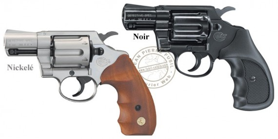 Revolver alarme UMAREX COLT Detective - Cal. 9mm RK