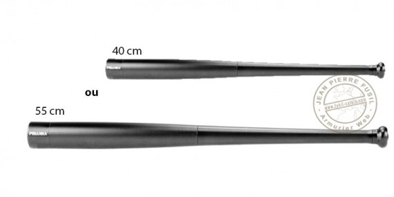 Piranha - Batte - torche en aluminium anodisé