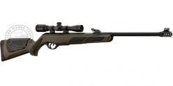 Kit carabine à plomb GAMO Shadow DXGreen Storm 4.5 mm (19.9 joules) + lunette 4x32