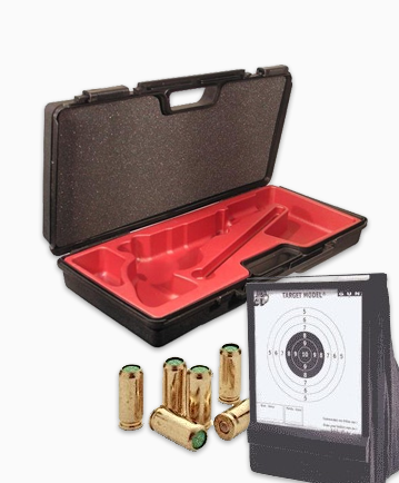 Ammunition, targets and accessories