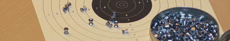 cible et munitions pour la carabine