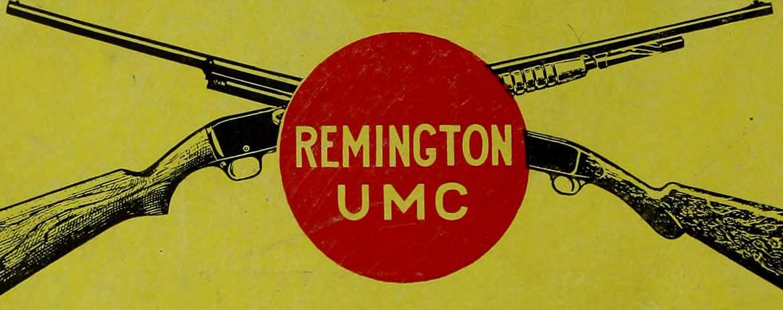 Advertising for Remington UMC ammunition.